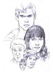 Superman - The Movie Sketch by Advertassociates