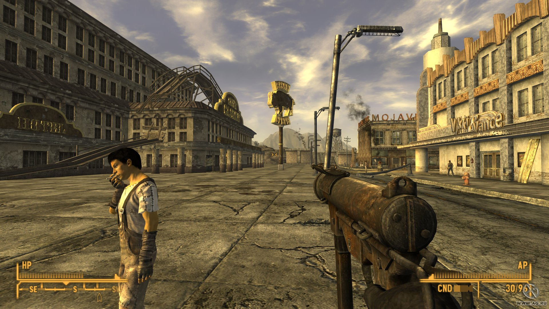 I'm going to give Fallout New Vegas a proper shot  Vanilla