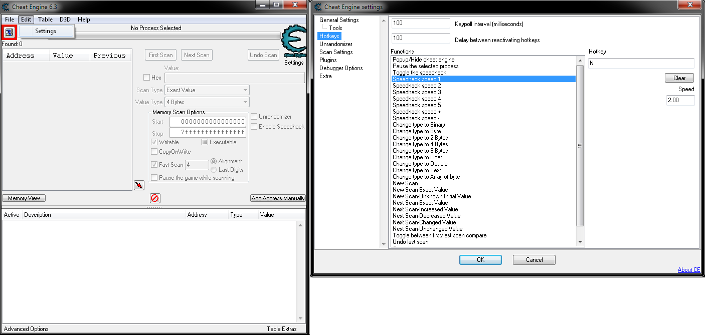 Use Cheat Engine to speed up games  | NeoGAF