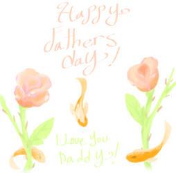 Fathers Day Card by cookiekinz