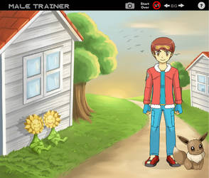 My Pokemon Human OC first version and presentation by EmiTrainer