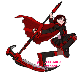 RWBY Rose by LolExtended