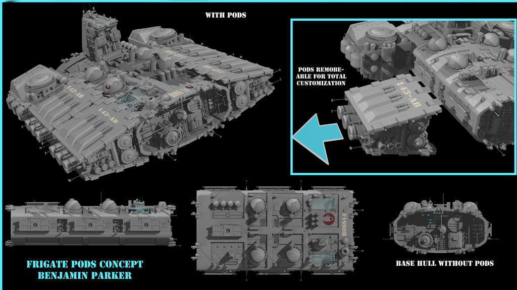 plans for asteroid ship - photo #12