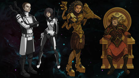 Lost Stars-Characters by residentcrow7