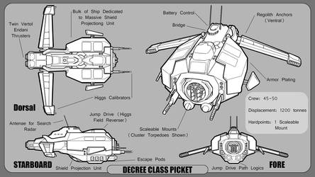 Lost Stars Decree Class Picket. by residentcrow7