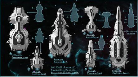 Lost Stars Cocept Art Praught-Rickens Ships 1