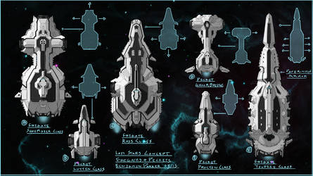 Lost Stars Cocept Art Praught-Rickens Ships 1 by residentcrow7