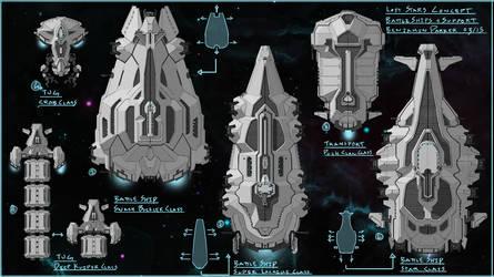 Lost Stars Cocept Art Praught-Rickens Ships 2