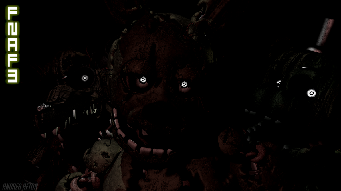 Five Nights At Freddy's 3 by AndreaAfton