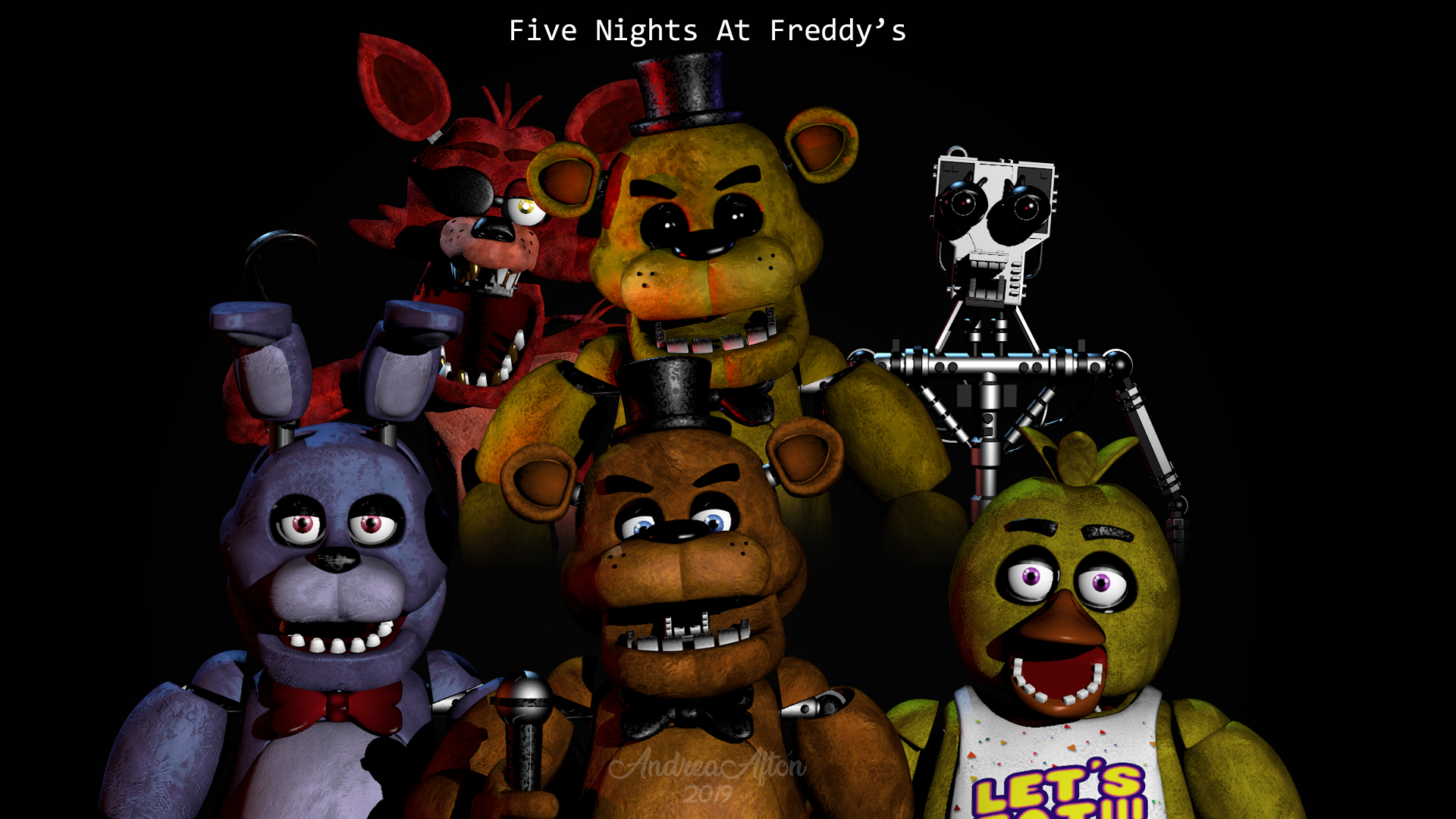 Five Nights At Freddy S Wallpaper By Jenniferafton On Deviantart