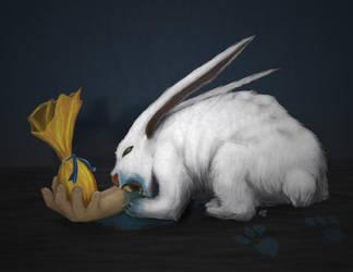 Bad Rabbit by psychoduck