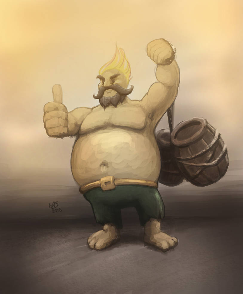 The Beerbringer by psychoduck