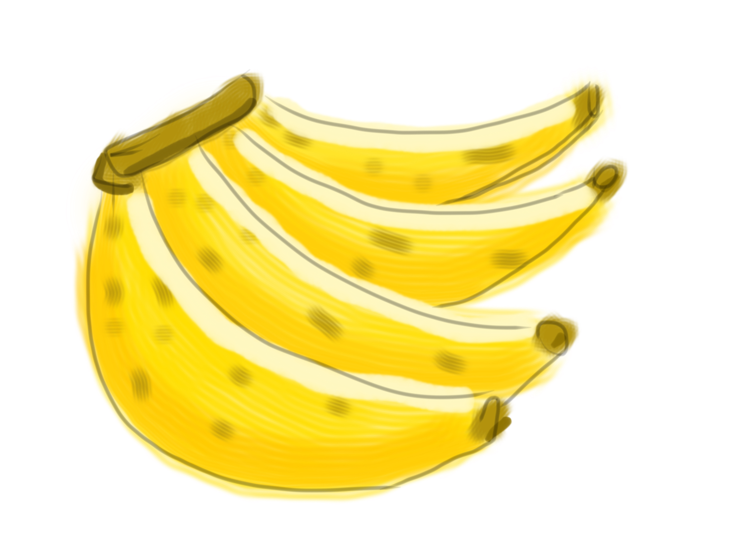 Bananas by psychoduck
