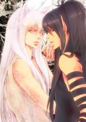 Kuronue and Kurama by brm6