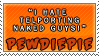 Teleporting Naked Guys by VAL0VE