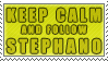 KEEP CALM. and Follow Stephano by VAL0VE