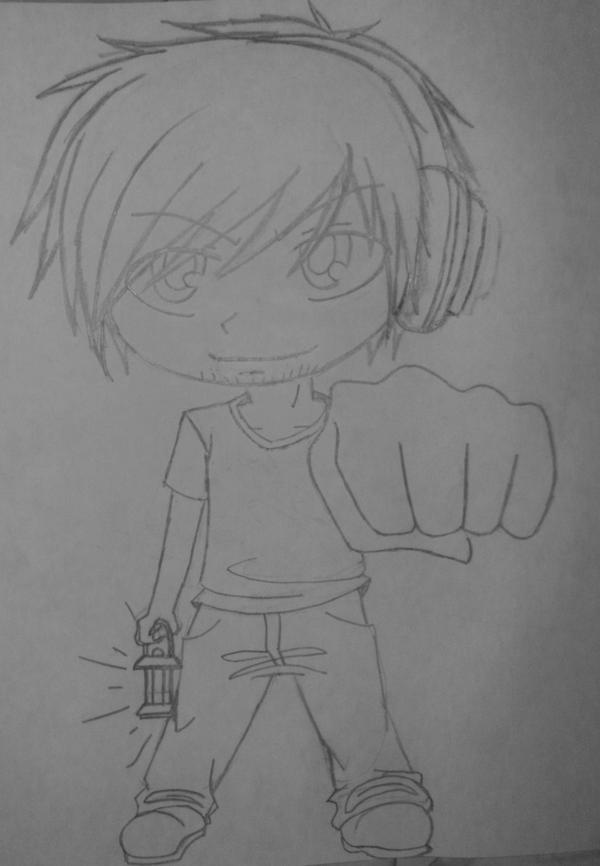 Chibi Pewdie by VAL0VE