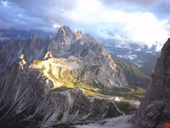 Mountain by Eru-Maamandil