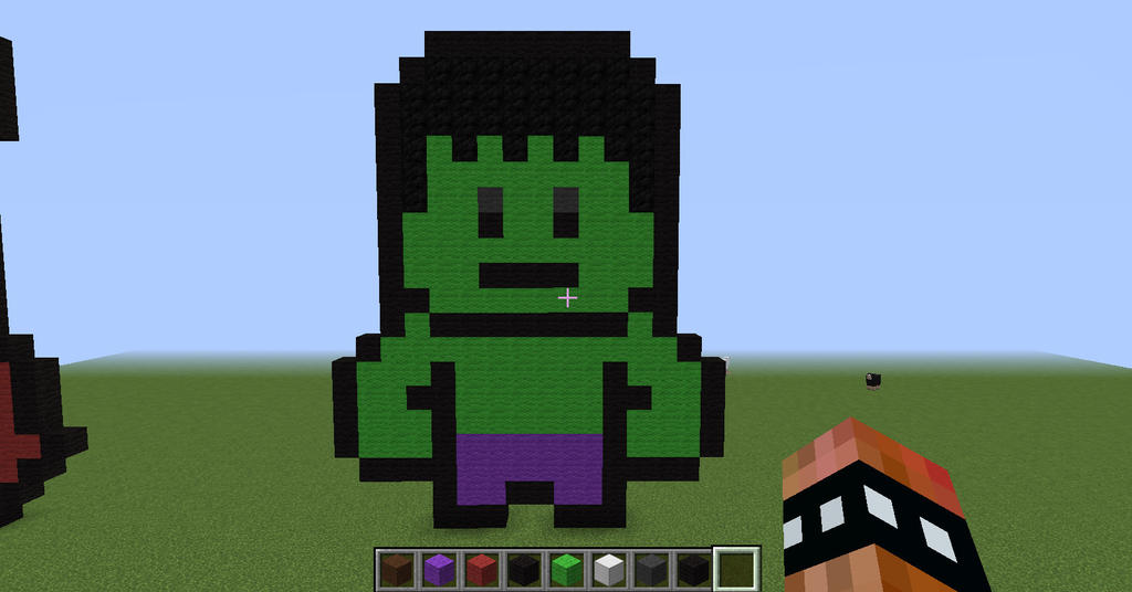 Image Gallery Minecraft Hulk