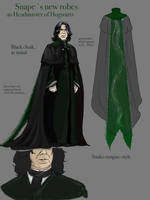 Snapes new robe Design by JuanaSunfall