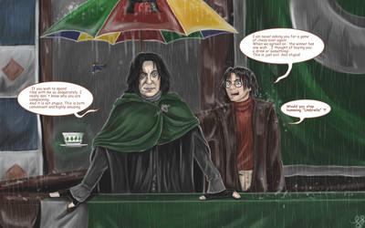Under my Umbrella by JuanaSunfall