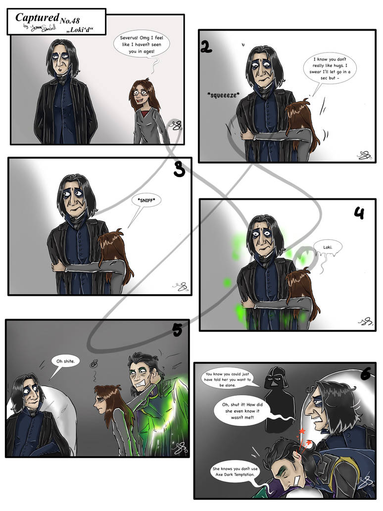Captured 48: Loki'd by JuanaSunfall