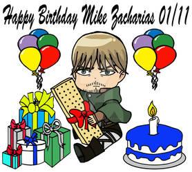 Mike Zacharias Birthday 2018 by Jewsters1986