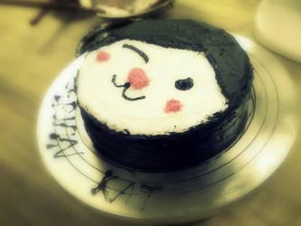 Miga Butercream Cake by Chibikat-kat