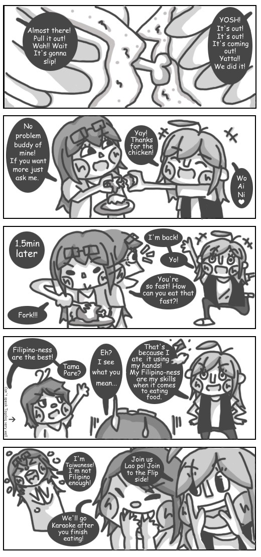 Why Do You Eat Fast? by Chibikat-kat