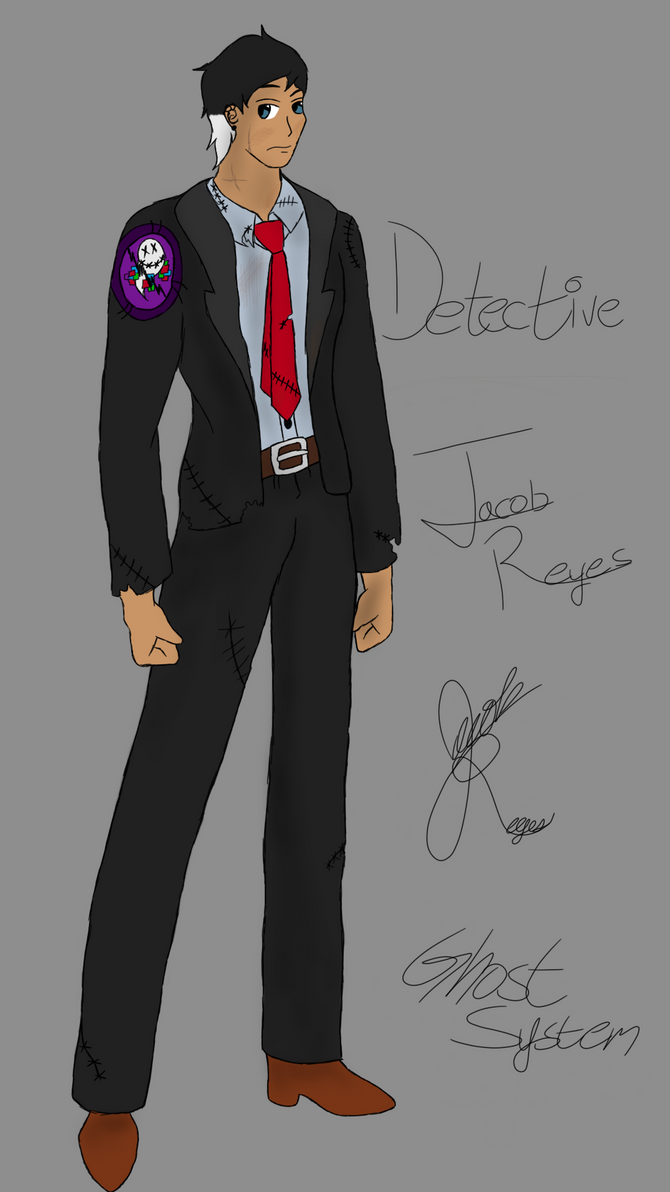 Detective Jacob Reyes-Ghost System by DarkMagician873