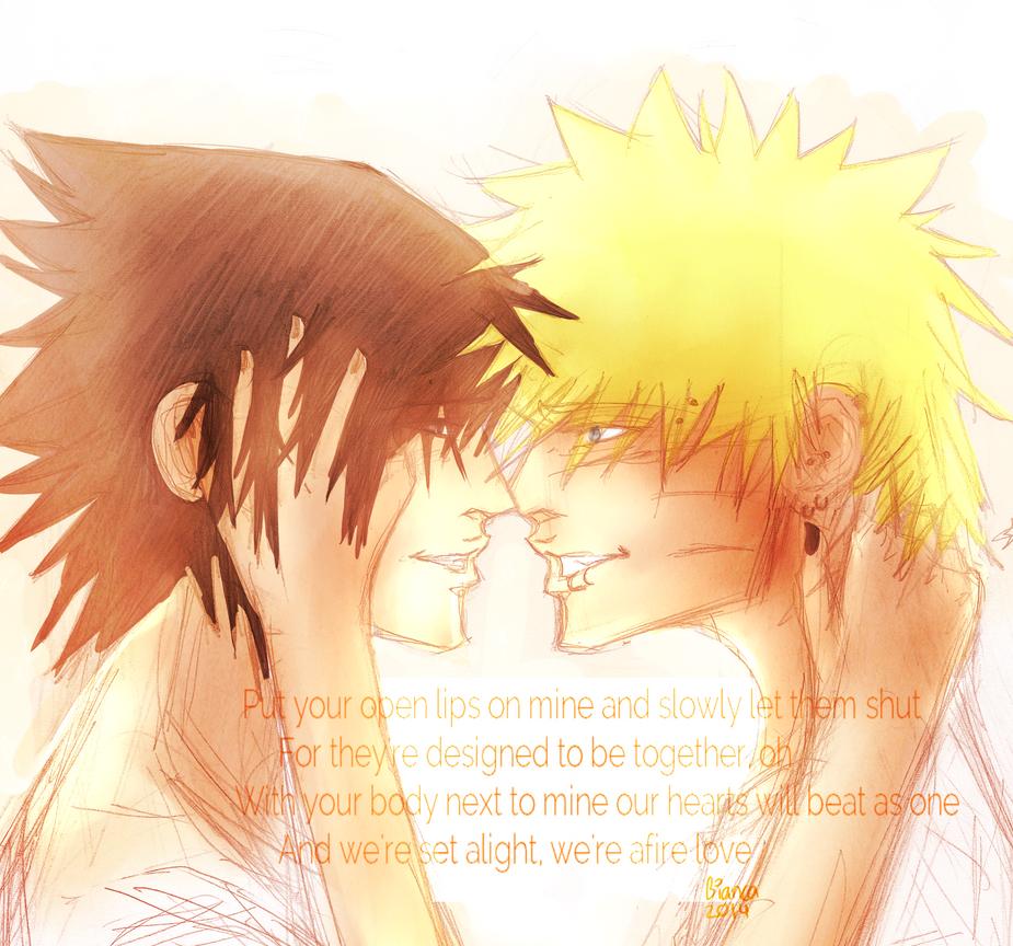 Afire love by RainbowDashCat