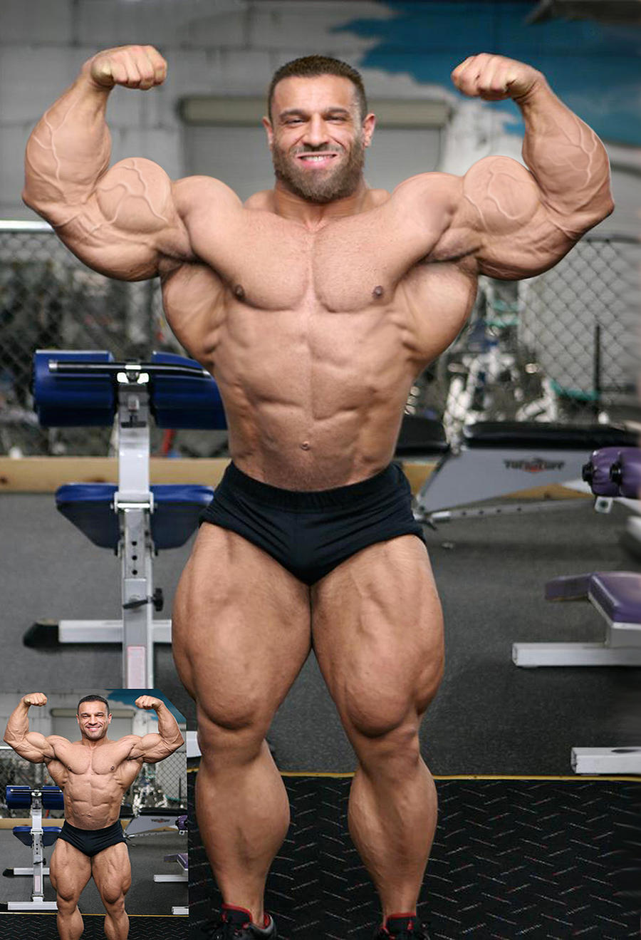 Morphed Muscle by Blathering