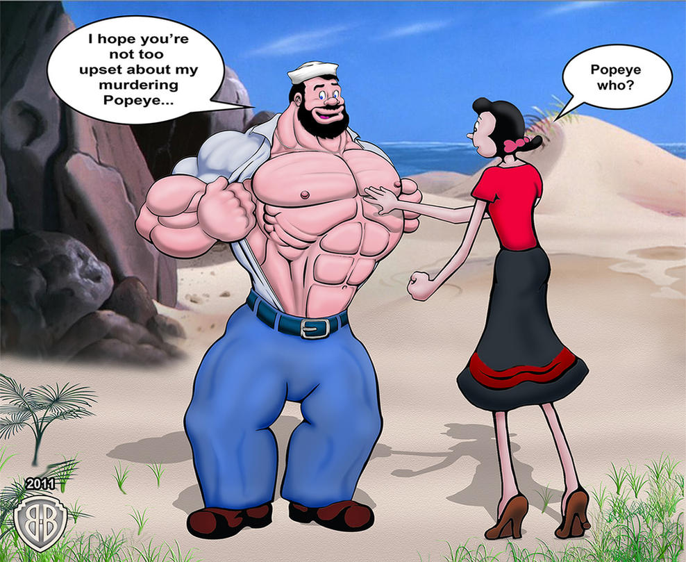 Naked pictures of popeye