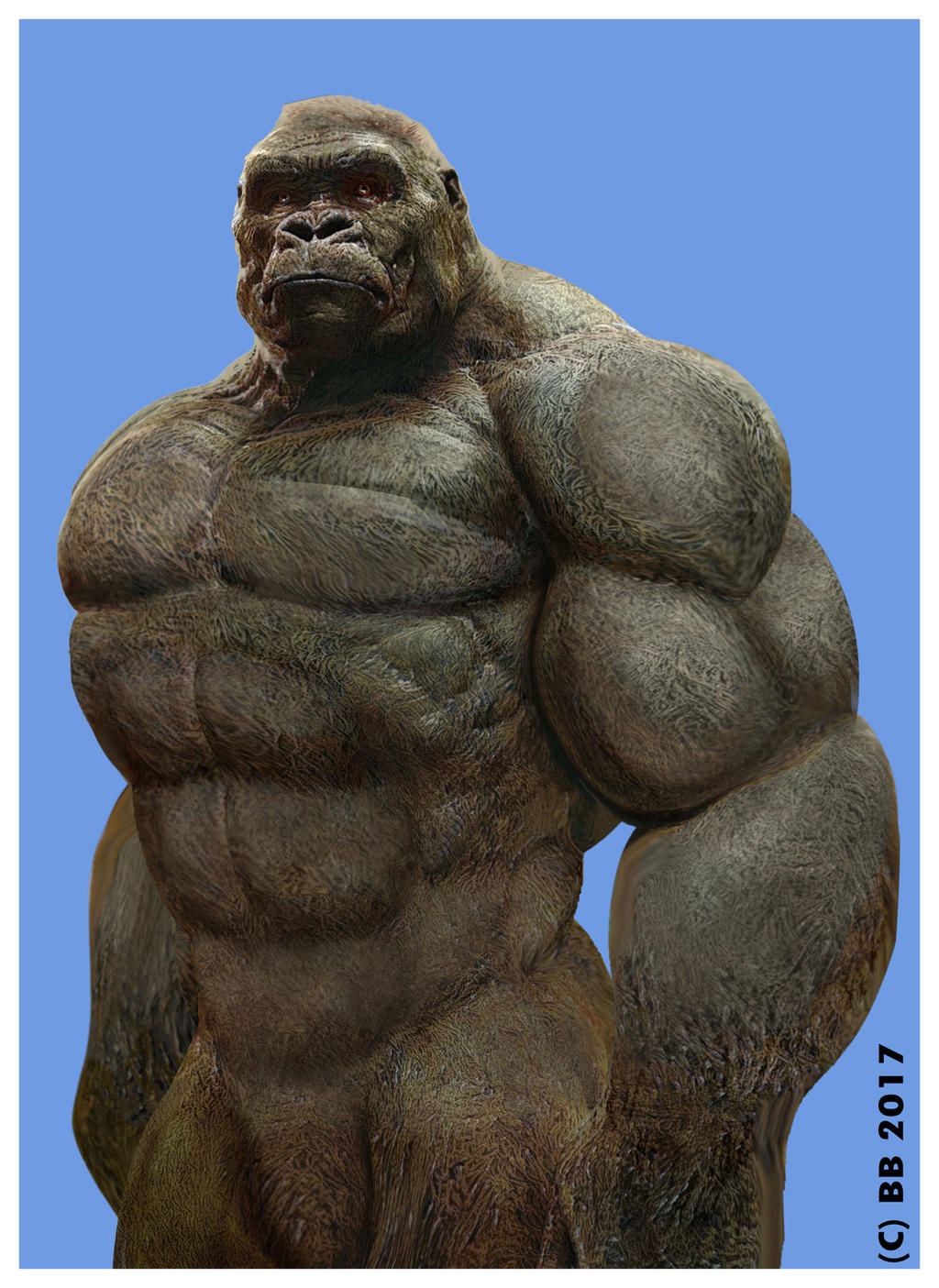 Ultimate gorilla by Blathering on DeviantArt