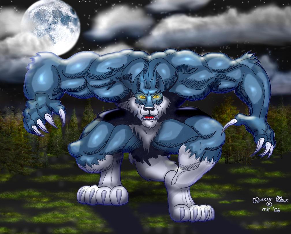 Buff Werewolf Muscle Related Keywords - Buff Werewolf