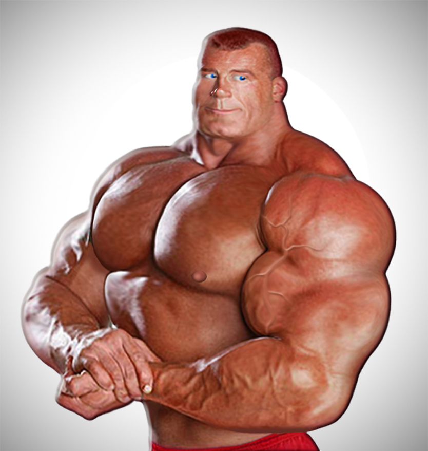 More steroid abuse by Blathering on DeviantArt