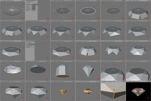 C4Dtut: creating a diamond