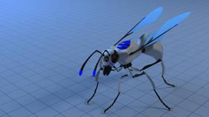 W.A.S.P espionage drone by sicklizard
