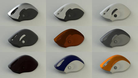 Analog Stick Mouse Color Versions by sicklizard