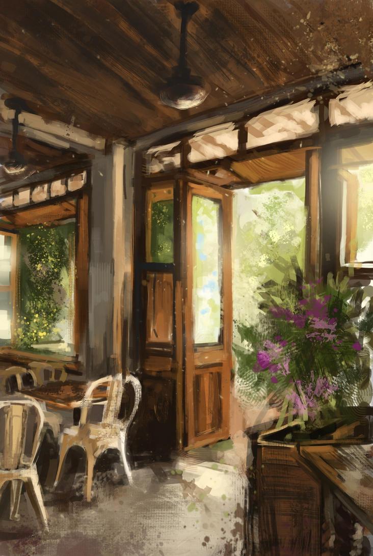 Cafe by Sherbatt