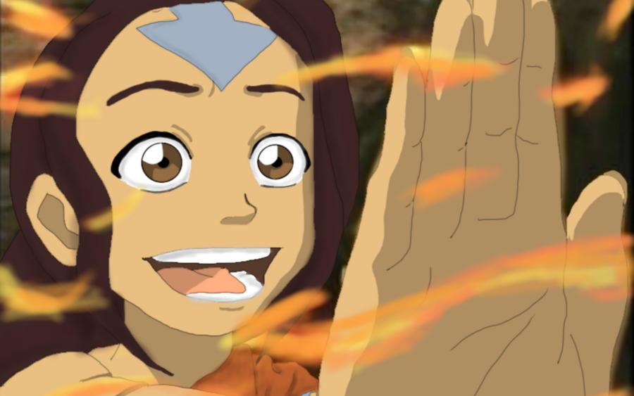 Avatar Air Bender desnuda