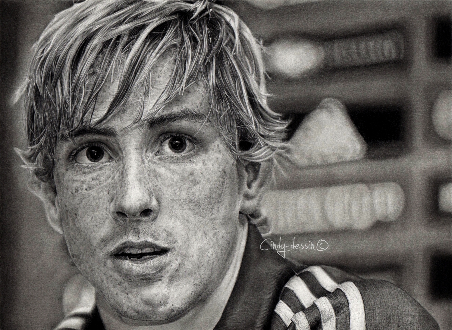 Fernando Torres by cindy-drawings