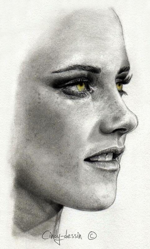 Kristen Stewart II by cindy-drawings