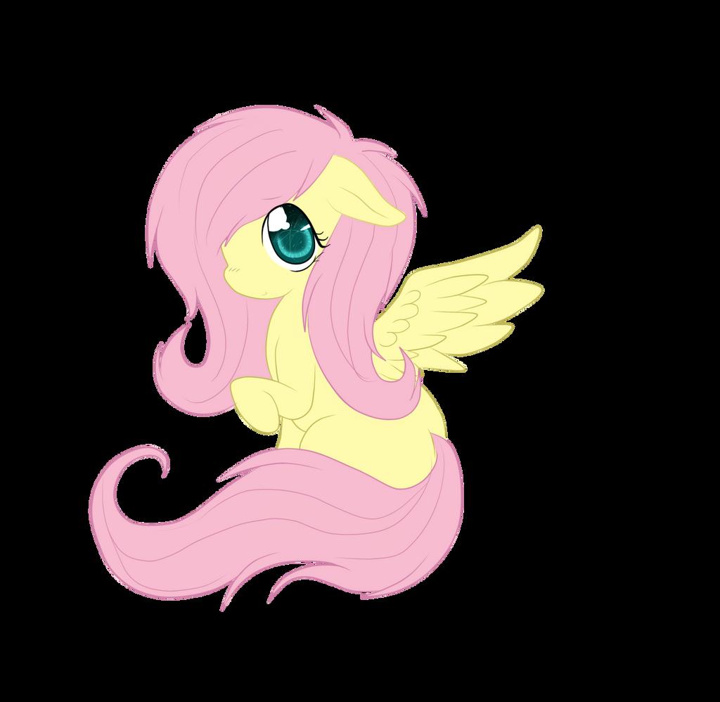 Little Fluttershy by LauMizu