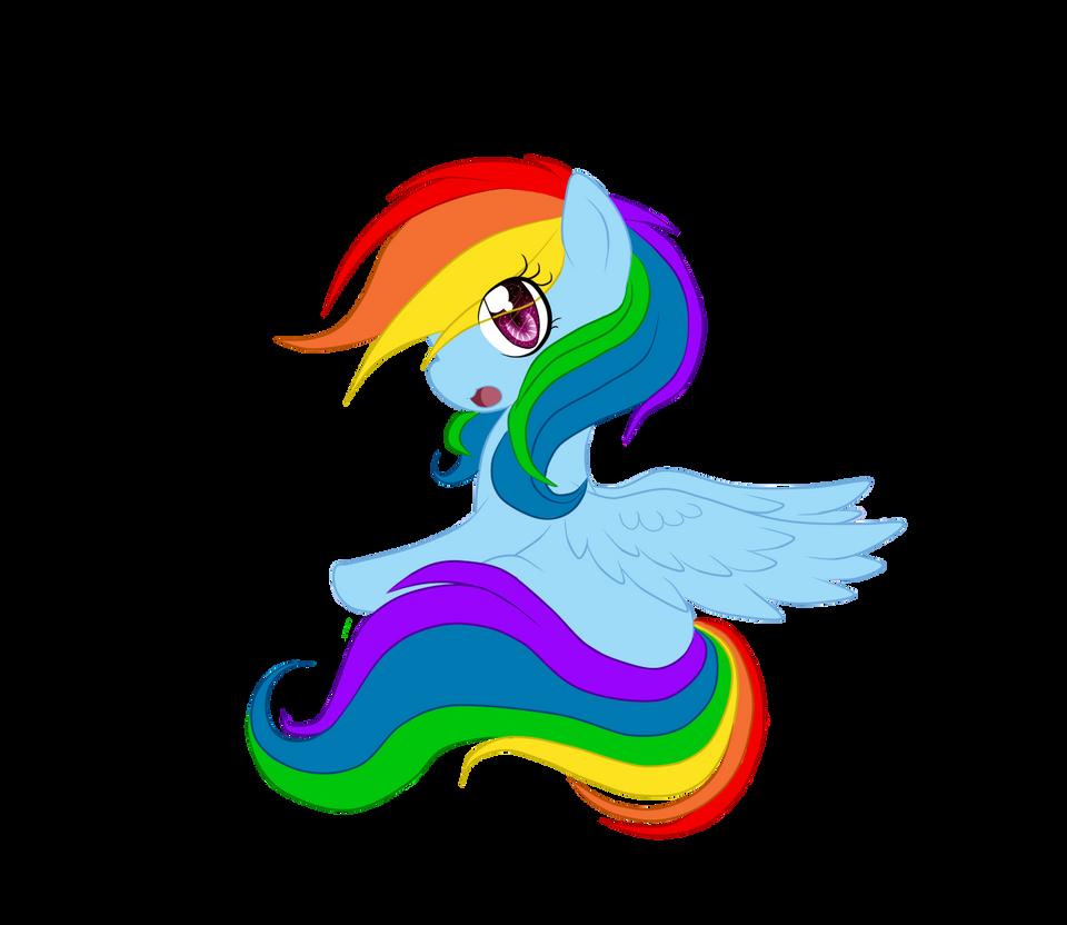 Little Rainbow Dash by LauMizu