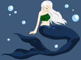 Takari Starks ++ Mermaid form by DemonVampire13