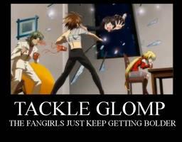 Kuroneko Motivational Glomp by DemonVampire13