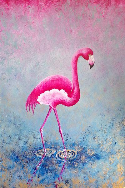 Davidmunroeart david munroe deviantart for Flamingo feather paint