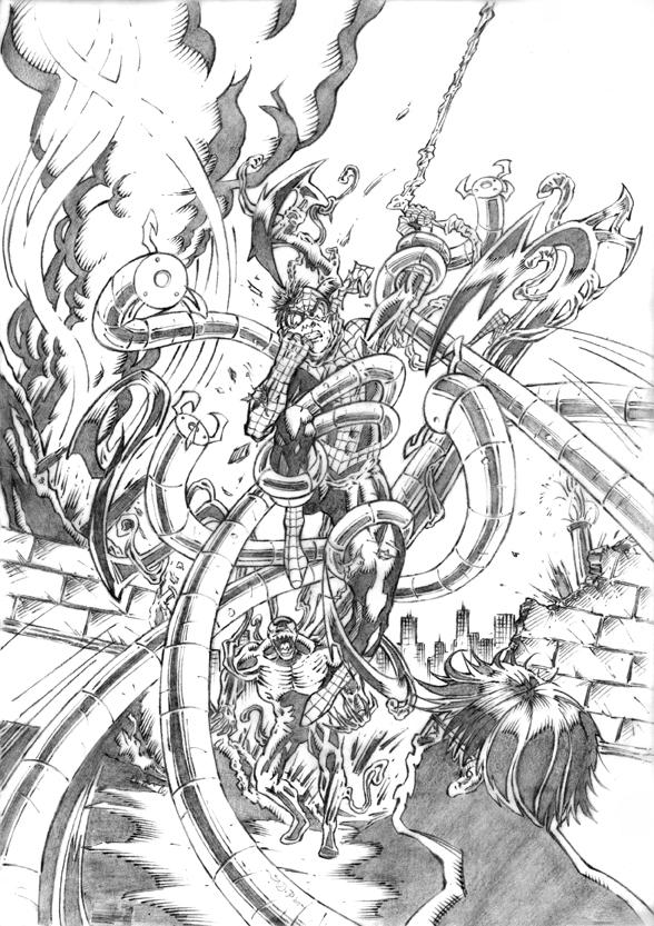 Spiderman vs carnage drawings - photo#36