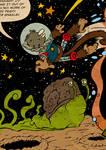 Retro Space Monkey preview